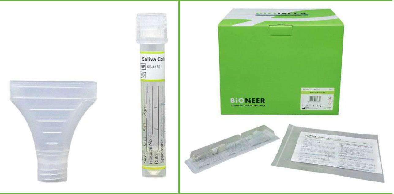 Saliva Collection Kit - Gencell Pharma