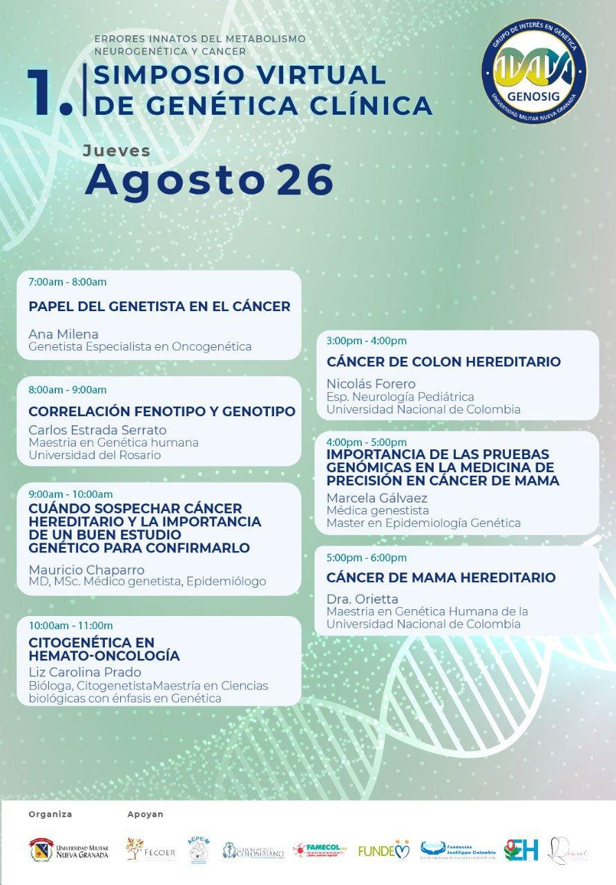 Simposio Virtual de Genética Clínica - Gencell Pharma