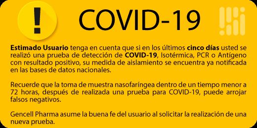 Covid-19 - Gencell Pharma